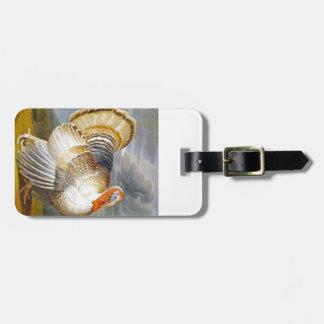Turkey in a Landscape Luggage Tag