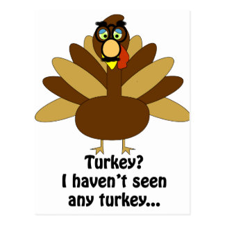 Turkey in Disguise Postcard