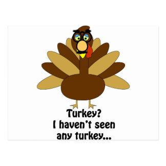Turkey in Disguise Postcard