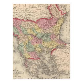 Turkey in Europe 8 Postcard