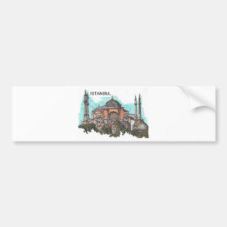 Turkey Istanbul Hagia Sophia (by St.K) Bumper Sticker