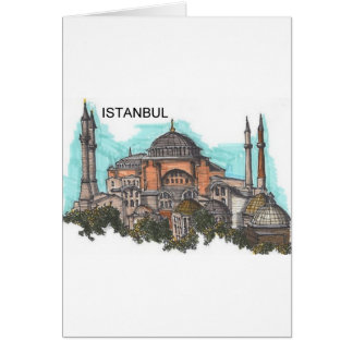 Turkey Istanbul Hagia Sophia (by St.K) Card