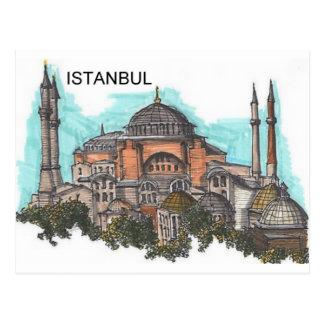 Turkey Istanbul Hagia Sophia (by St.K) Postcard