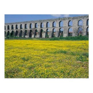 Turkey, Istanbul, Kemerburgaz, Uzunkemer (the Postcard