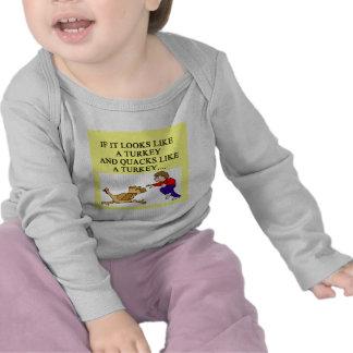TURKEY joke Tee Shirt