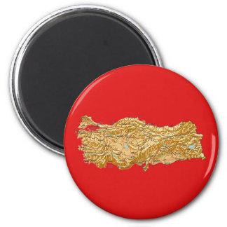Turkey Map Magnet