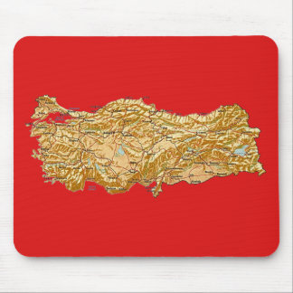 Turkey Map Mousepad