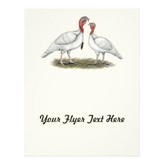 Turkey Mini Whites Flyer Design
