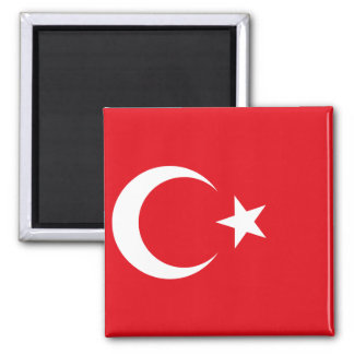 Turkey National World Flag Magnet