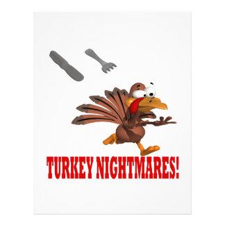 Turkey Nightmares Flyers