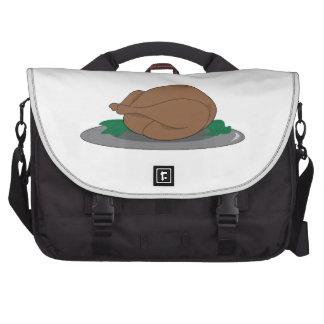 Turkey on Platter Bags For Laptop