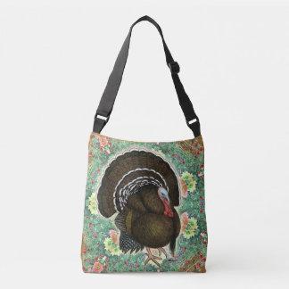 Turkey On the Greens Crossbody Bag