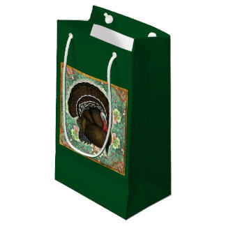 Turkey On the Greens Small Gift Bag