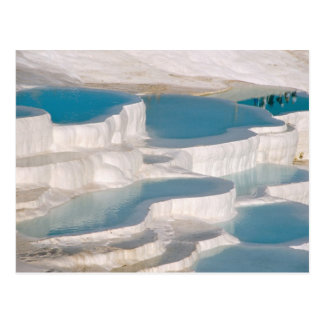 Turkey, Pamukkale Cotton Castle). Postcard