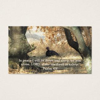 Turkey Paradise Psalm Wallet Card