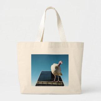 Turkey Popout Art, Large Tote Bag