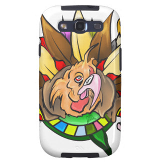 Turkey Print Prepare For Feast Samsung Galaxy S3 Covers