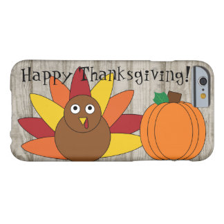 Turkey & Pumpkin Thanksgiving iPhone 6 Case