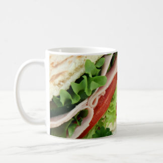 Turkey Sandwich Print - Weird Unique Gift Coffee Mug