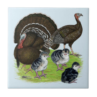 Turkey Standard Bronze Family Tile