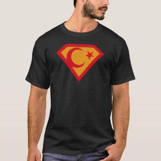 Turkey Superman Men's Basic Dark T-Shirt