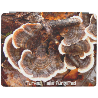 Turkey Tails FungiPad Cover iPad Cover