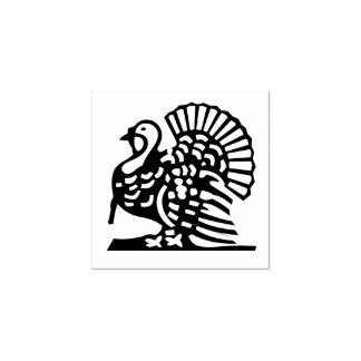 Turkey Thanksgiving Decor Custom Rubber Stamp