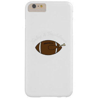 Turkey Touchdowns Thanksgiving Gift Barely There iPhone 6 Plus Case