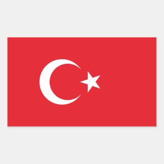 Turkey/Turkish Flag Sticker