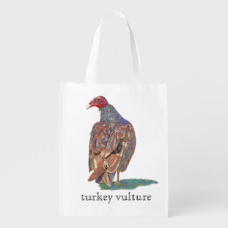 TURKEY VULTURE REUSABLE GROCERY BAG