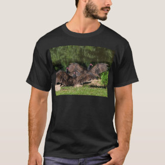 Turkey Vultures With Spread Wings T-Shirt
