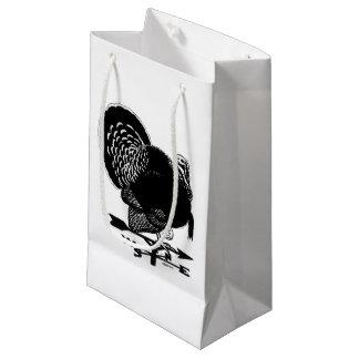 Turkey Weathervane Small Gift Bag