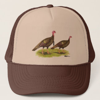 Turkey:  Wild Bronze Trucker Hat