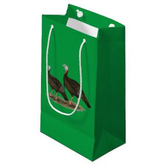 Turkeys Eastern Wild Pair Small Gift Bag