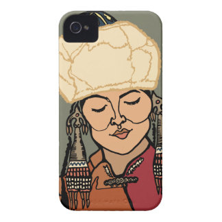 Turkic Woman Case-Mate iPhone 4 Case