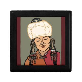 Turkic Woman Gift Box