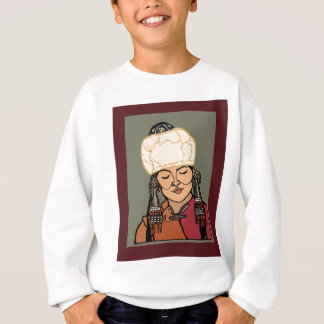 Turkic Woman Sweatshirt