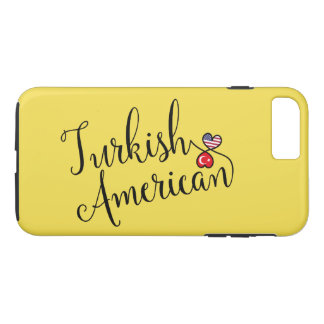 Turkish American Entwined Hearts Cell Phone Case