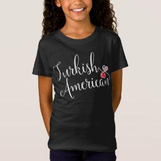 Turkish American Entwinted Hearts Tshirt