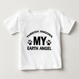 TURKISH ANGORA cat design Baby T-Shirt