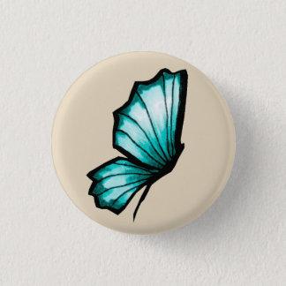 Turkish butterfly 1 inch round button