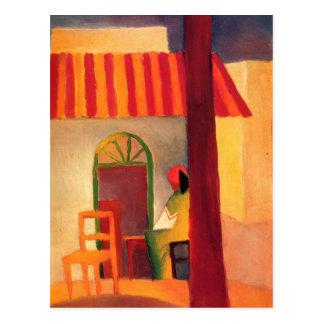 Turkish Cafe by August Macke (1914) Postcard
