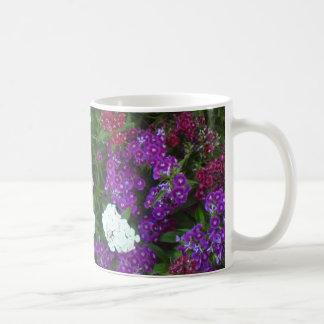 Turkish carnation flowers coffee mug
