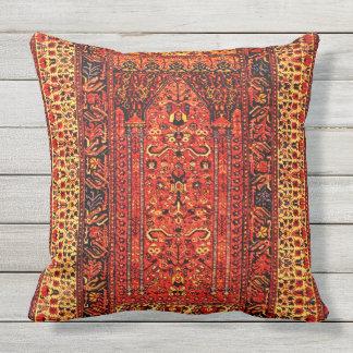 "Turkish Carpet ""Annie"" Throw Pillow"