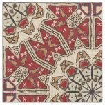 Turkish carpet kaleidoscope fabric