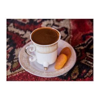 Turkish Coffee And Fruit Acrylic Print