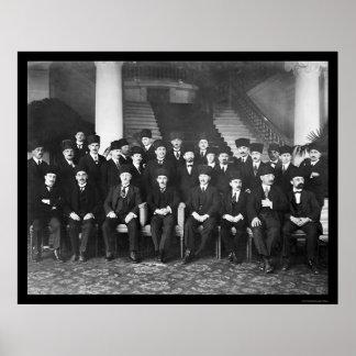 Turkish Delegation 1923 Poster