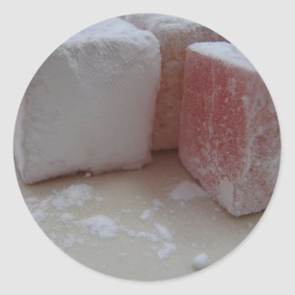 Turkish Delight Classic Round Sticker
