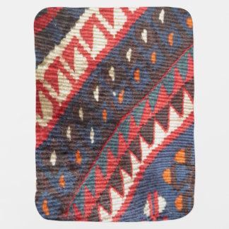 Turkish Exotic Bohemian Boho Ethnic Persian Carpet Baby Blanket