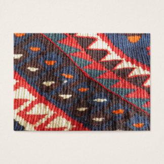 Turkish Exotic Bohemian Boho Ethnic Persian Carpet Business Card